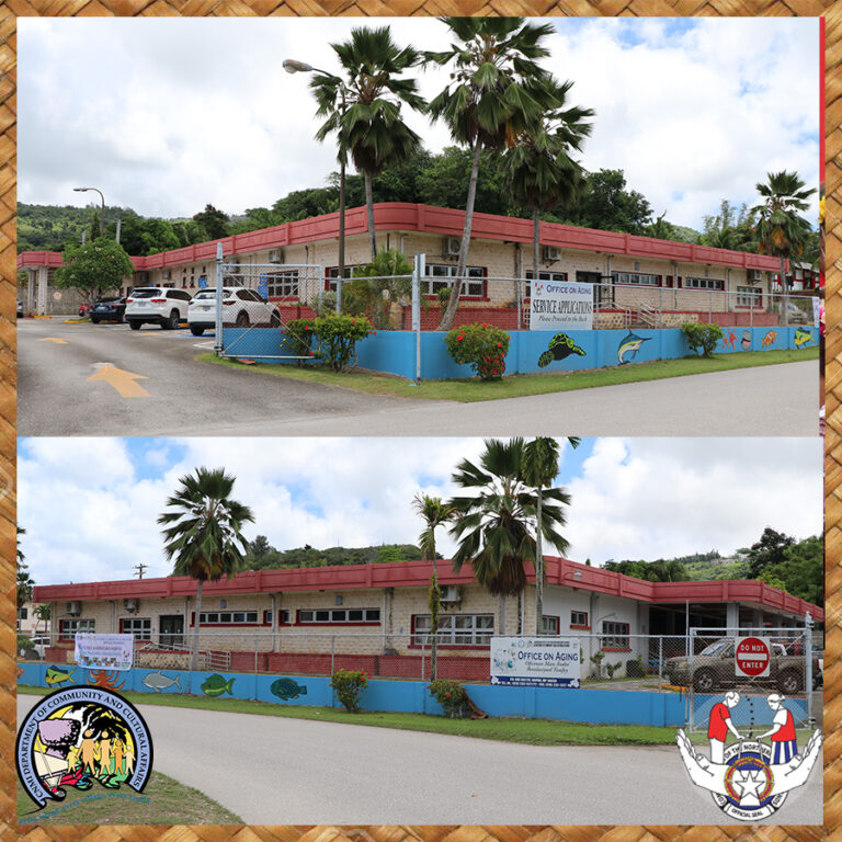 The Saipan Aging Center is located in China Town. Call 233-1322 for more information.
