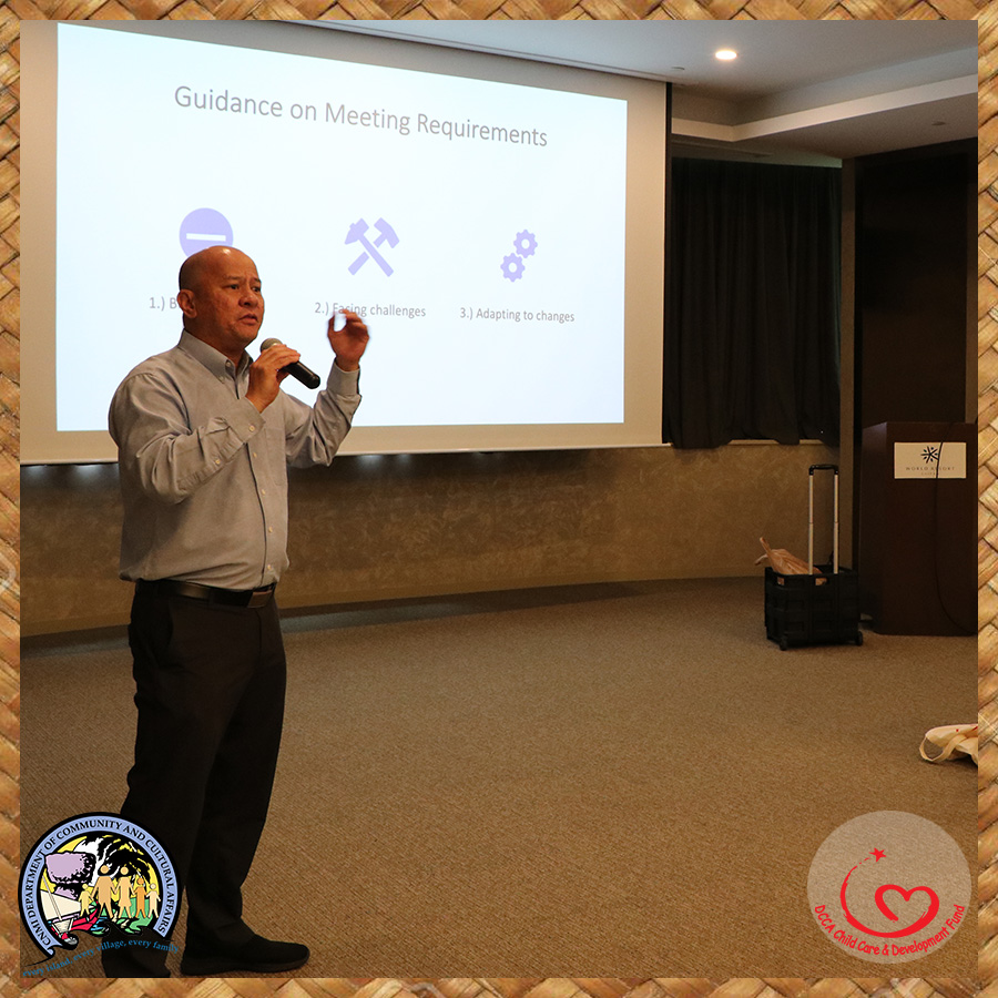 Mr. Eric Evangelista details the Do's and Don't's of the Application process